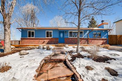 Arvada Single Family Home Under Contract: 7588 Lamar Court