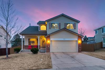 Parker Single Family Home Under Contract: 21842 Whirlaway Avenue