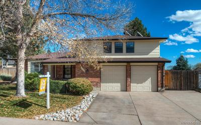 Littleton Single Family Home Active: 7776 South Kendall Court