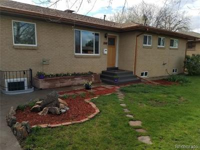 Wheat Ridge Single Family Home Active: 4645 Saulsbury Street