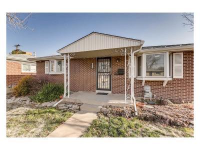 Denver Single Family Home Active: 1990 South Dahlia Street