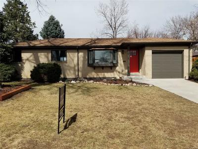 Denver Single Family Home Active: 5525 East Bails Drive