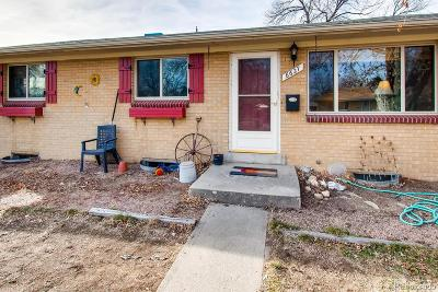 Arvada Single Family Home Under Contract: 6627 Upham Drive