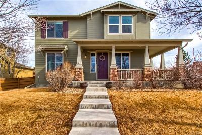 Commerce City Single Family Home Under Contract: 10054 Telluride Street
