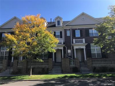 Aurora Condo/Townhouse Active: 3768 South Dallas Street