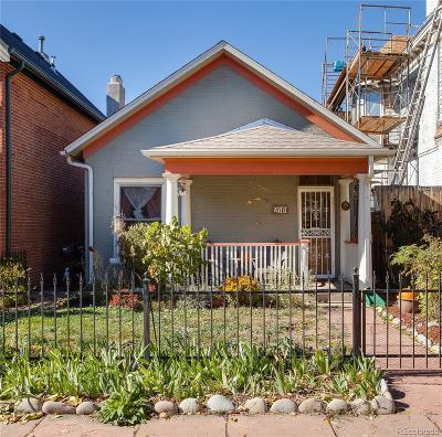 Denver Single Family Home Active: 2819 Curtis Street