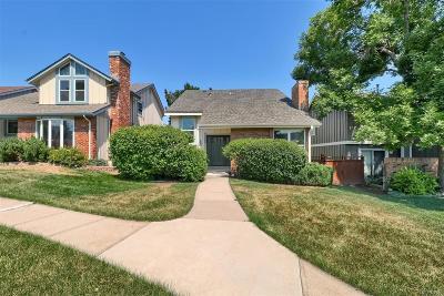 Centennial CO Single Family Home Under Contract: $459,000