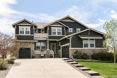 Aurora Single Family Home Active: 7550 South Jackson Gap Way