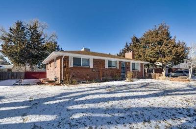 Centennial Single Family Home Under Contract: 6515 South Ogden Street