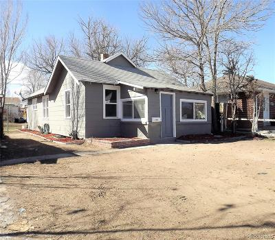 Denver Single Family Home Active: 159 South Decatur Street
