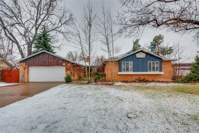Greenwood Village Single Family Home Under Contract: 5965 South Gaylord Way
