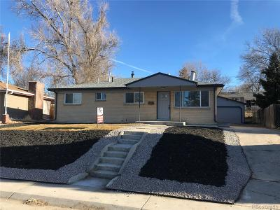 Westminster Single Family Home Active: 8070 Stuart Place