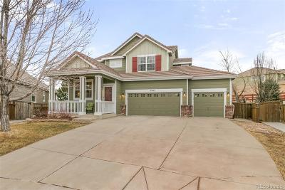 Castle Rock Single Family Home Under Contract: 3962 Scarlet Oak Court