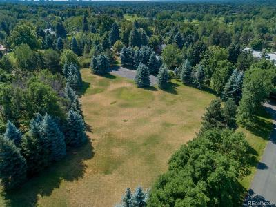 Arapahoe County Residential Lots & Land Active: 22 Cherry Hills Drive