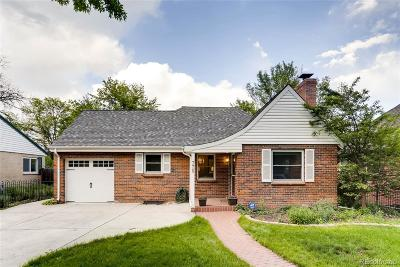 Denver Single Family Home Active: 770 Holly Street