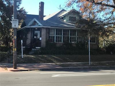 Denver Residential Lots & Land Active: 2900 West 29th Avenue