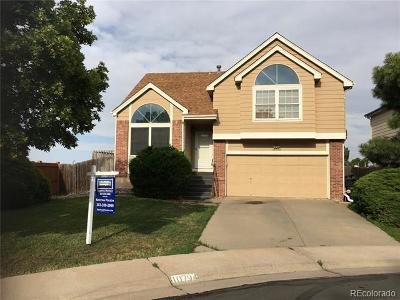 Thornton Single Family Home Active: 10794 Madison Street