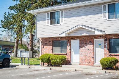 Wheat Ridge Condo/Townhouse Under Contract: 10951 West 44th Avenue