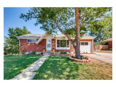 Northglenn Single Family Home Active: 10522 Carlile Street