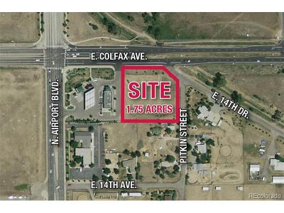 Aurora Residential Lots & Land Active: Colfax