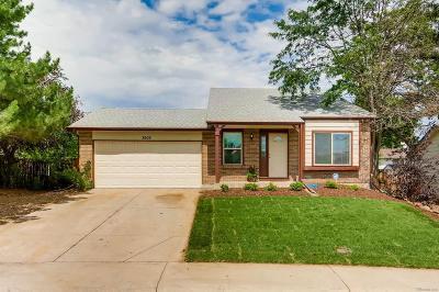 Littleton Single Family Home Active: 8905 West Teton Circle