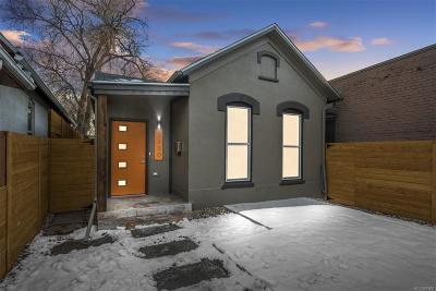 Denver Single Family Home Active: 1130 West 9th Avenue
