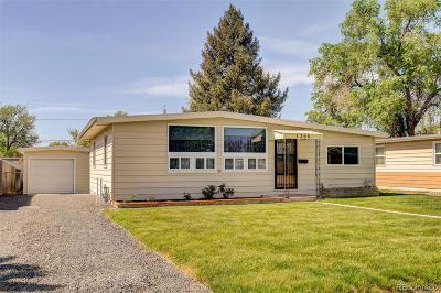 Commerce City Single Family Home Under Contract: 7260 East 75th Avenue