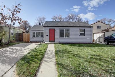 Denver Single Family Home Active: 1915 Xanthia Street