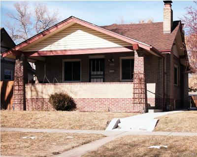 Denver Single Family Home Under Contract: 3137 West 34th Avenue