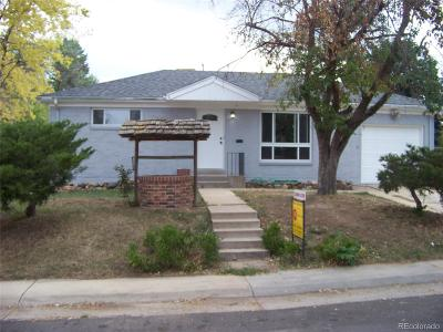 Northglenn Single Family Home Active: 294 Muriel Drive