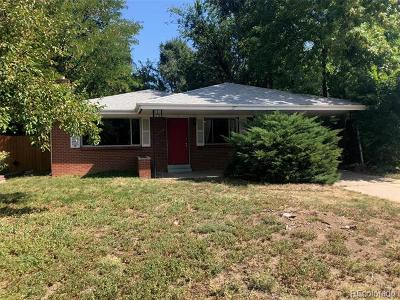 Single Family Home Active: 1874 South Clayton Street