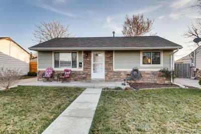 Commerce City Single Family Home Under Contract: 5500 East 65th Way