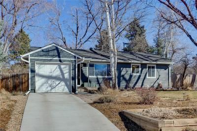 Littleton Single Family Home Under Contract: 5370 South Washington Street