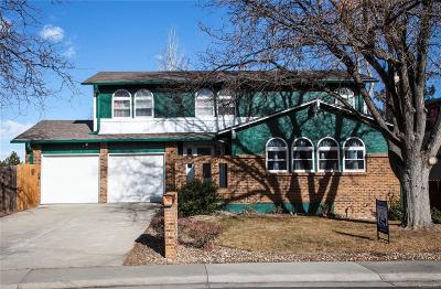 Westminster Single Family Home Active: 9341 West 90th Place