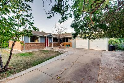 Westminster Single Family Home Under Contract: 8888 Circle Drive