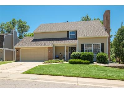 Centennial Single Family Home Active: 6230 East Long Circle