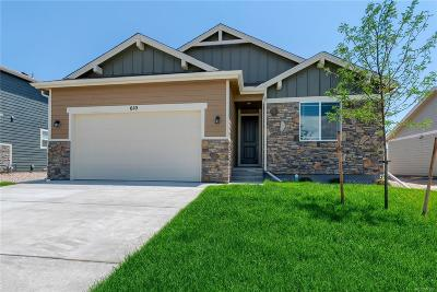 Ault Single Family Home Under Contract: 610 Cimarron Trail