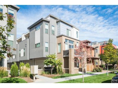 Denver Condo/Townhouse Active: 2331 Glenarm Place #4