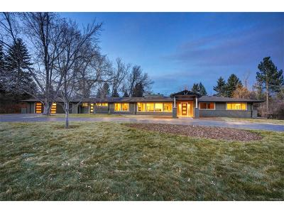 Littleton Single Family Home Active: 4701 Prospect Street
