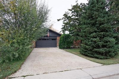 Northglenn Single Family Home Active: 343 Brigitte Drive