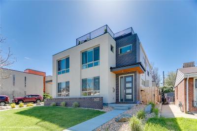 Denver Condo/Townhouse Active: 3633 Pecos Street