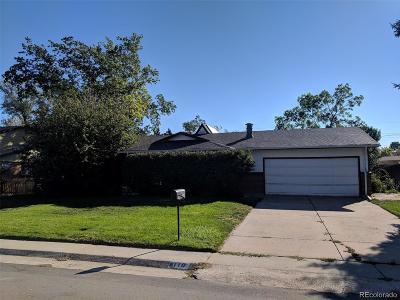 Littleton Single Family Home Active: 8110 South Lamar Street