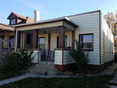 Denver Single Family Home Under Contract: 1530 Lowell Boulevard