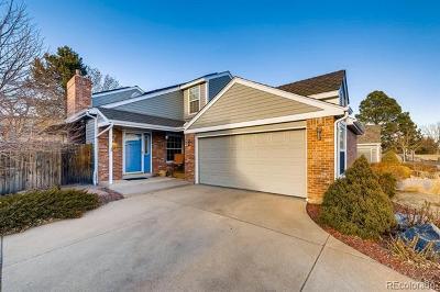 Littleton Single Family Home Active: 5219 South Cody Street