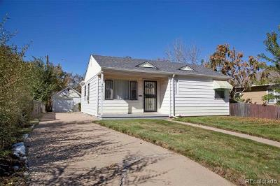 Denver Single Family Home Active: 4745 Perry Street
