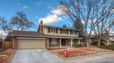 Centennial Single Family Home Under Contract: 7547 East Fremont Drive