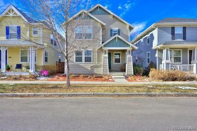 Denver Single Family Home Active: 2941 Fulton Street