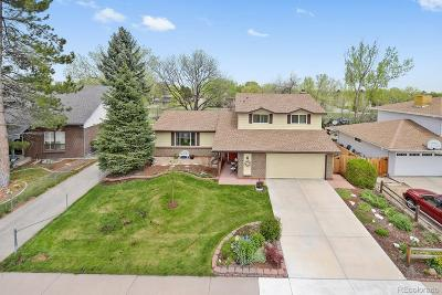 Littleton Single Family Home Under Contract: 7311 West Weaver Place
