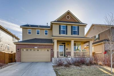 Aurora Single Family Home Under Contract: 25546 East 4th Place