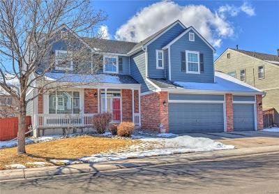 Highlands Ranch CO Single Family Home Under Contract: $515,000